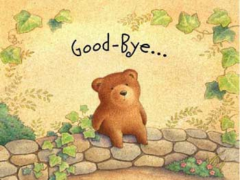 Goodbye Bear